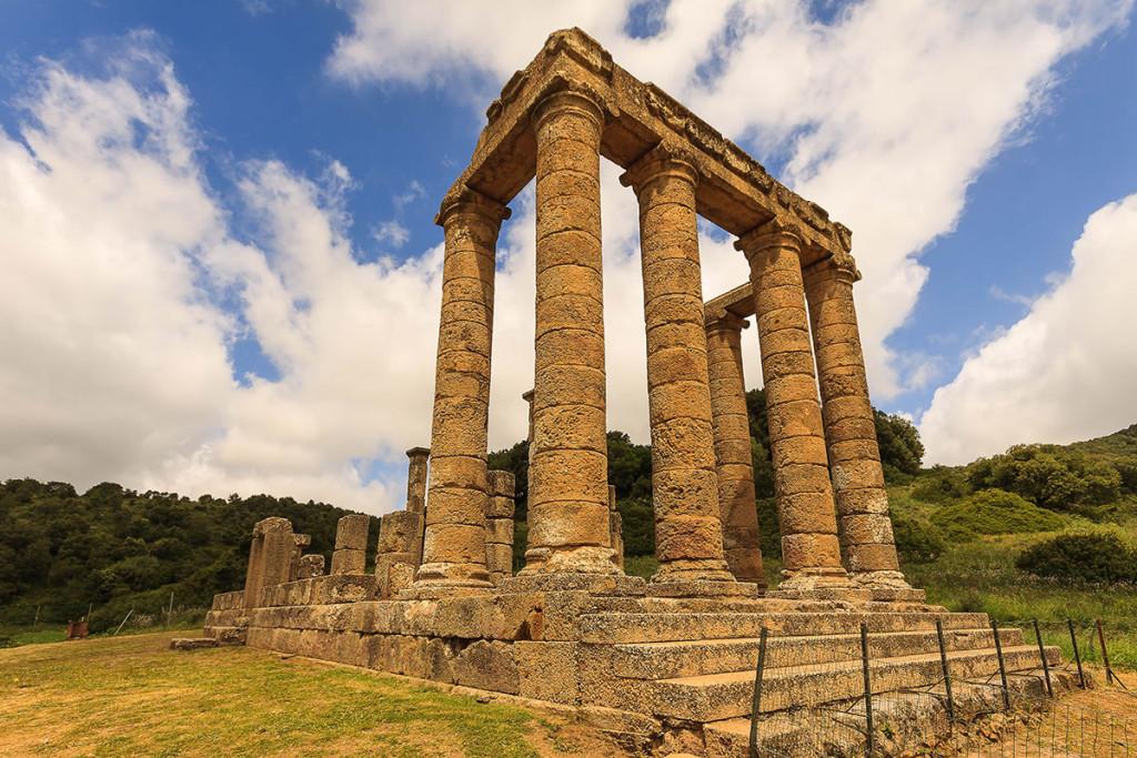 Temple of Antas, Fluminimaggiore (CI).